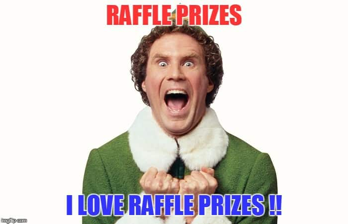 How to get raffle prizes donated