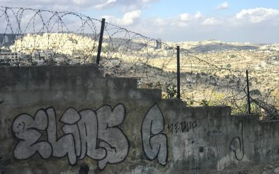What was it like visiting the west bank