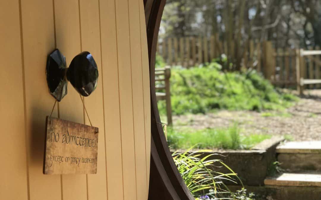 West Stow Pods; weekend stay in a Hobbit House