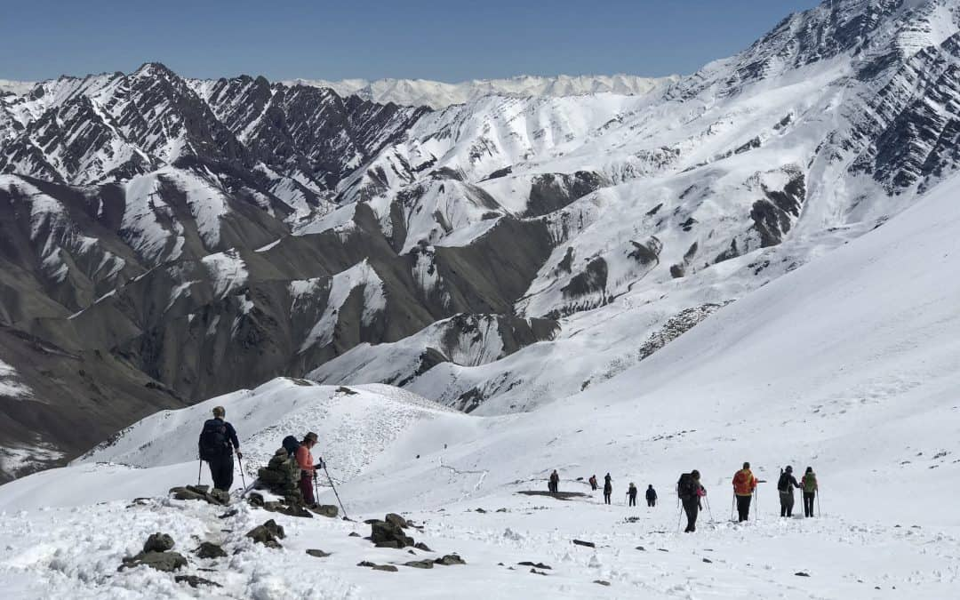 Stok Kangri trek in photos