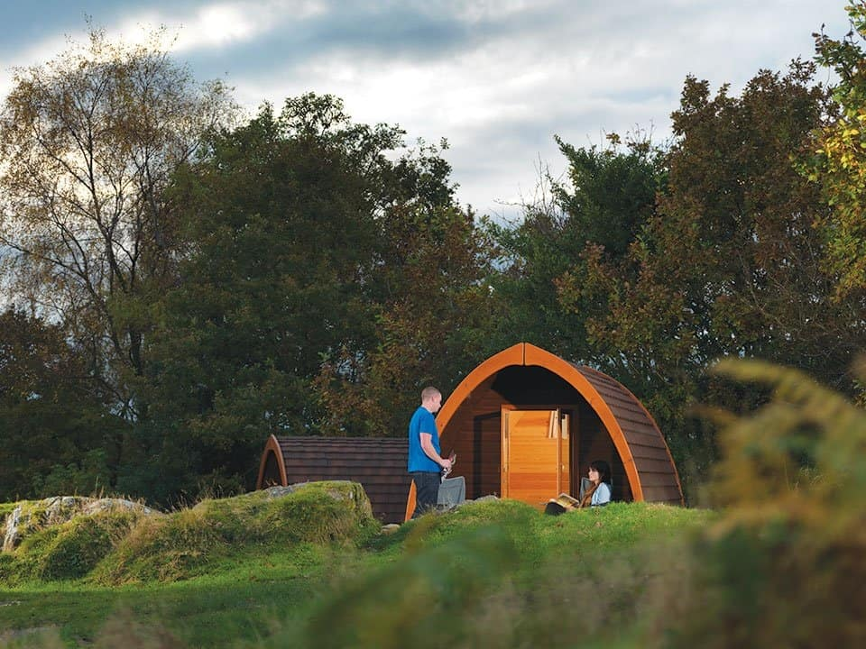Park Cliffe camping pod Lake District