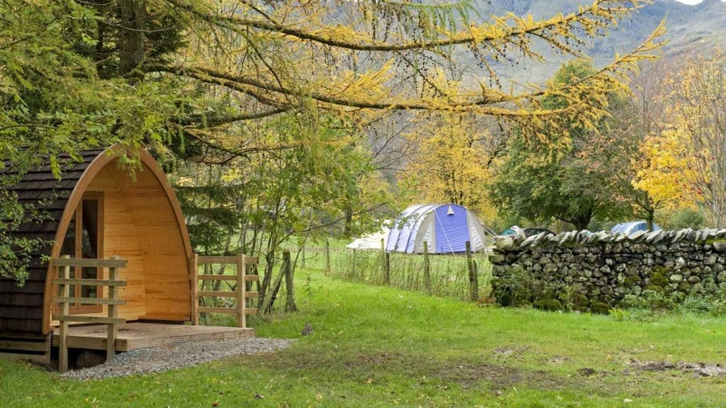 Best Lake district camping pods