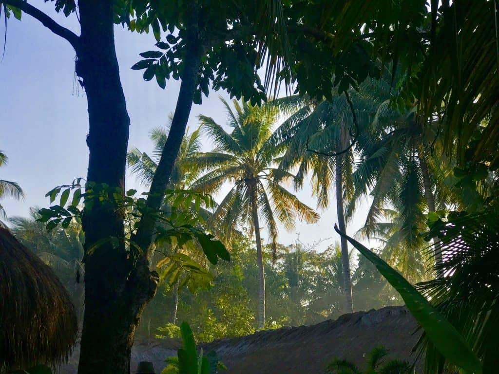 Mana Retreat Lombok view