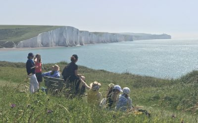 Step by step: Seaford to Eastbourne walk