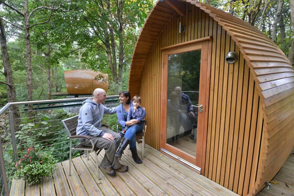 New Forest camping pods