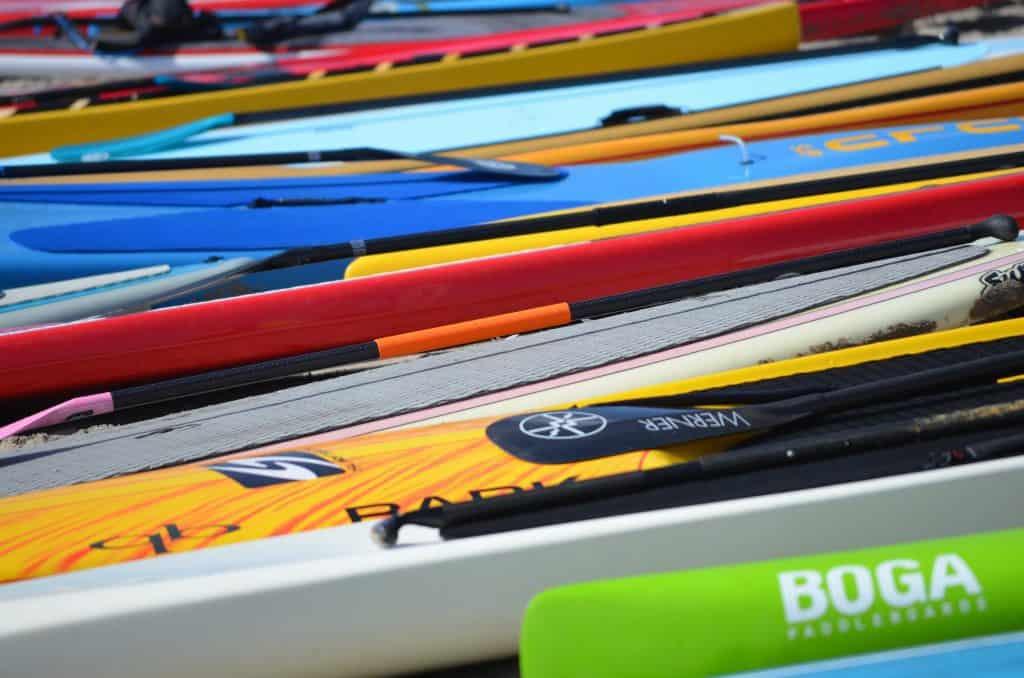 Kids standup paddleboard