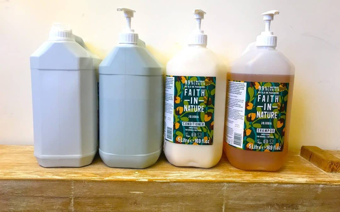 Setting up a plastic-free refill hub at home