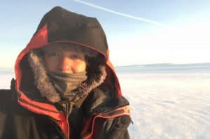 Me in the Arctic