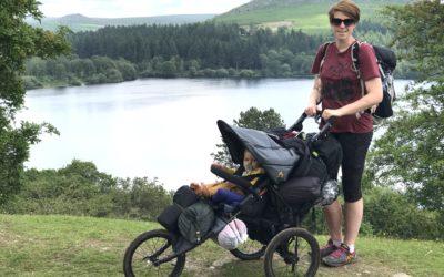 Family Adventures: A 3-day Dartmoor Buggy hike